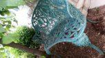 Rare Antique Cast Iron Garden Bench
